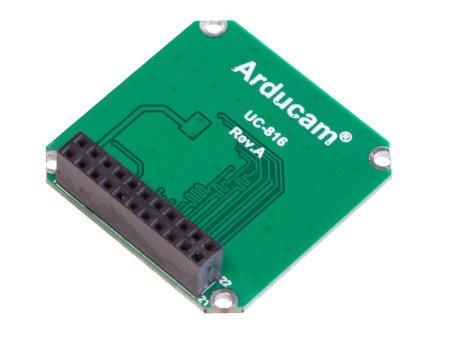 ArduCam Parallel Camera Adapter Board - adapter do ArduCam USB2 Camera Shield.