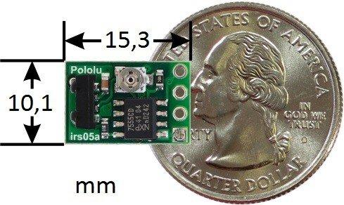 Cyfrowy czujnik odległości oparty na odbiorniku podczerwieni 38 kHz o zasięgu 30cm