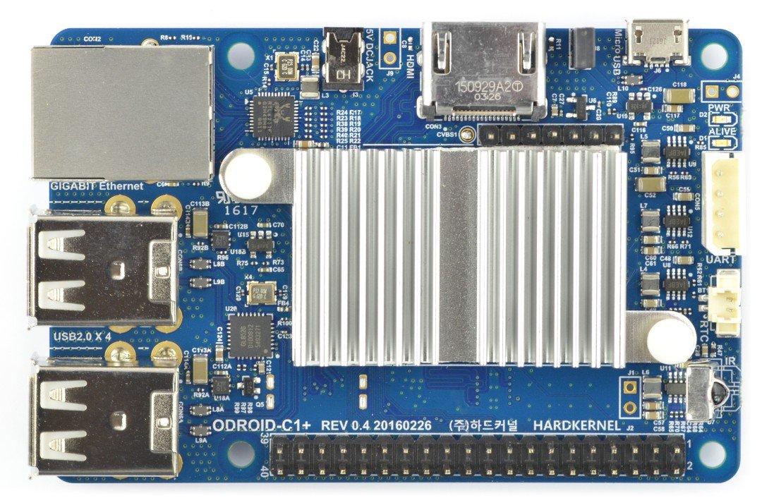 Odroid C1+ Quad-Core 1,5GHz 1GB RAM
